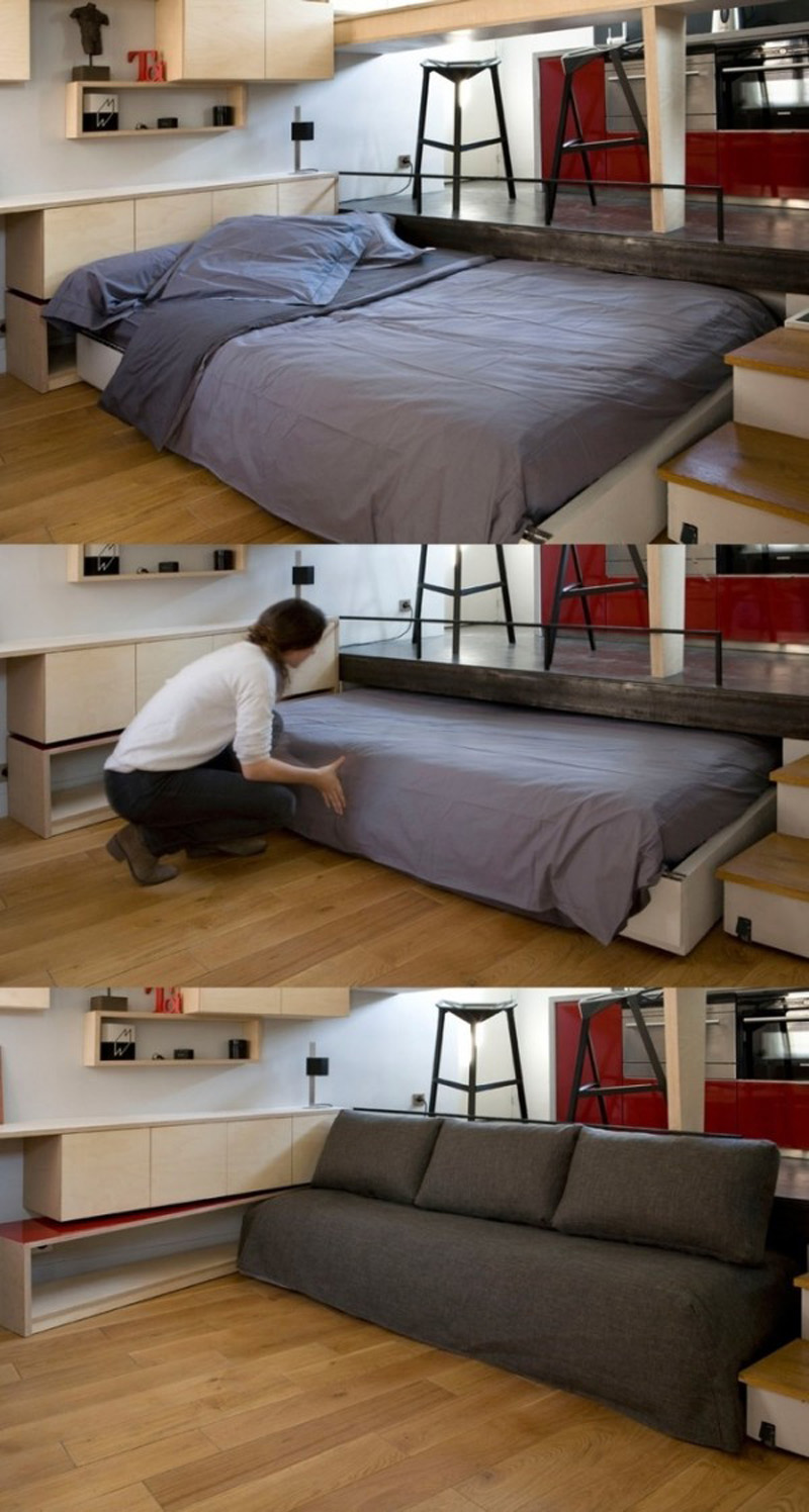 20 Ideas Of Space Saving Beds For Small Rooms