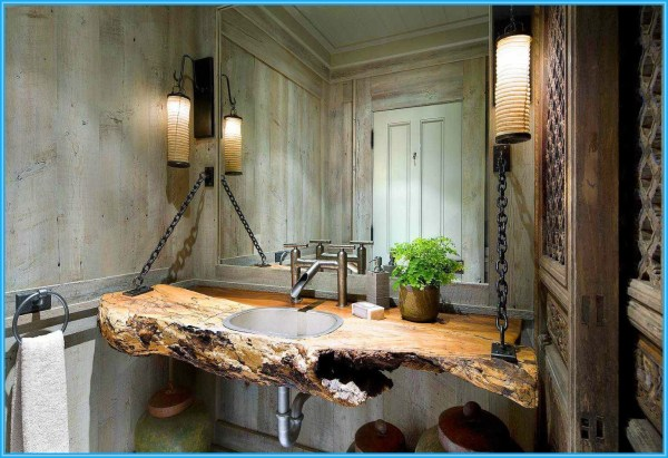 Exceptional Rustic Bathroom Design Filled With Coziness And Warmth Architecture &