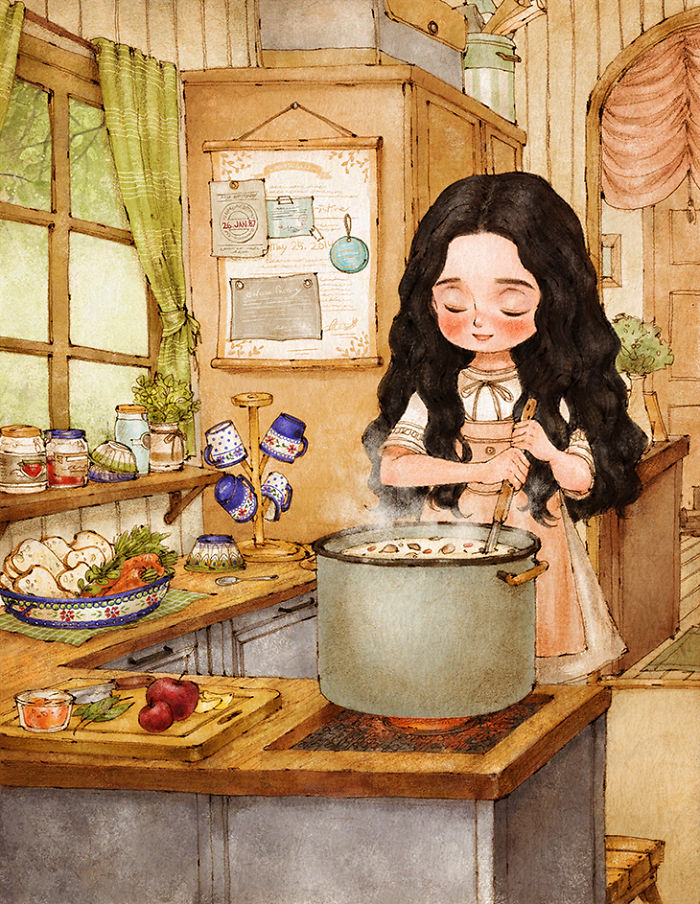 Korean Small Kitchen Design