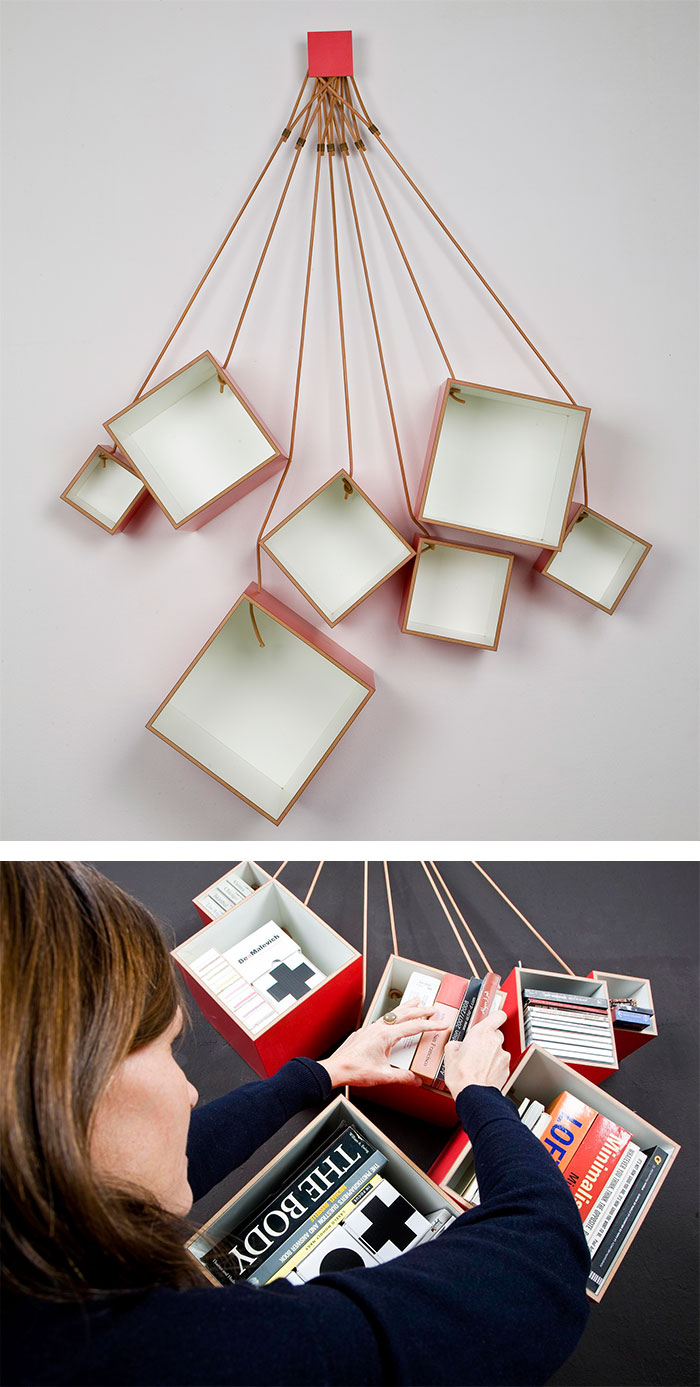hanging chair tree gel cushion as seen on tv 50+ of the most creative bookshelves ever | architecture & design