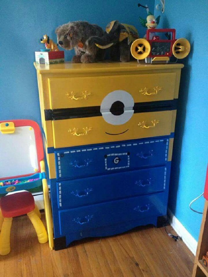 Girls Bedroom Wallpaper 20 Awesome Ideas To Decorate Your Home With Minions