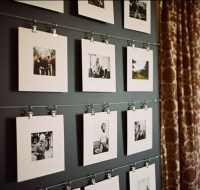 50 Cool Ideas To Display Family Photos On Your Walls ...