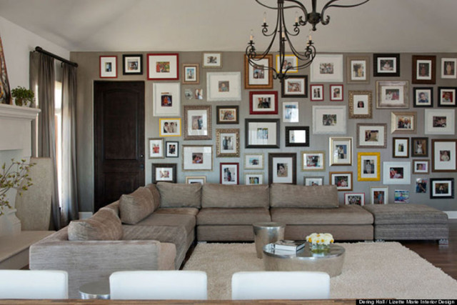 living room picture wall divine design pictures 50 cool ideas to display family photos on your walls architecture ad