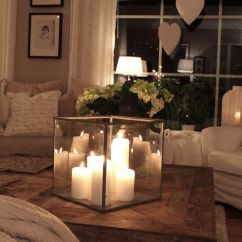 Living Room Coffee Table Decorations How To Choose Colors 20 Super Modern Decor Ideas That Will Inspiring Candles Ad 03 Warm Candle Lighted Home