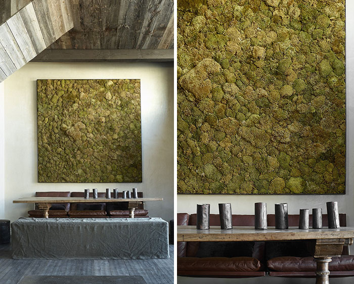 Moss Walls The Interior Design Trend That Turns Your Home Into A Forest  Architecture  Design