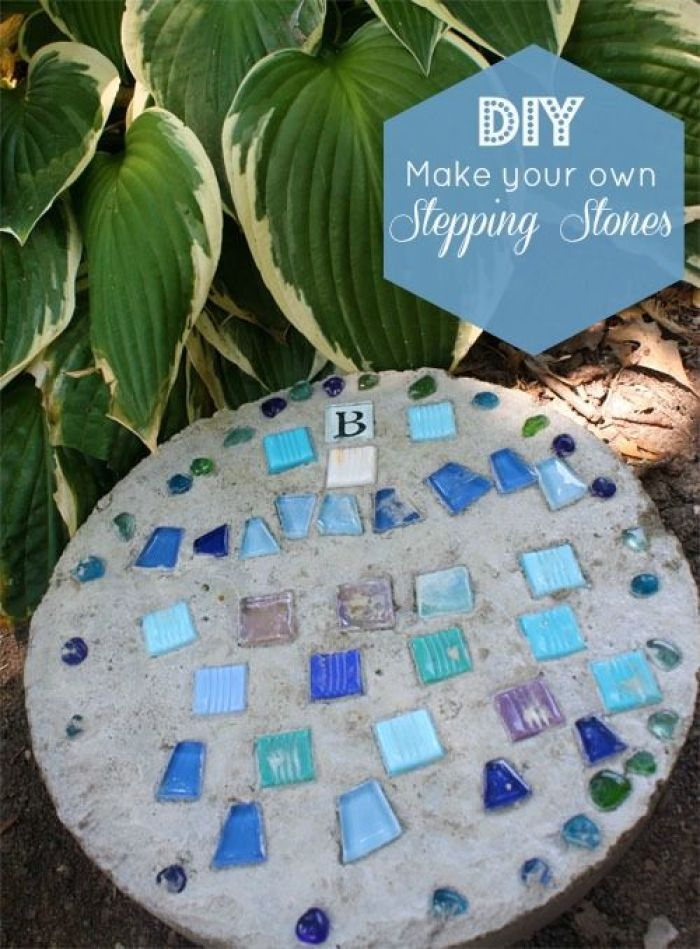 30 Stepping Stone Ideas For Gardening Diy Know Stuff