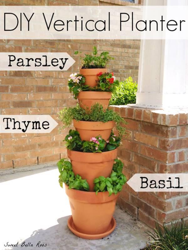 Terracotta Wall Planter Pots