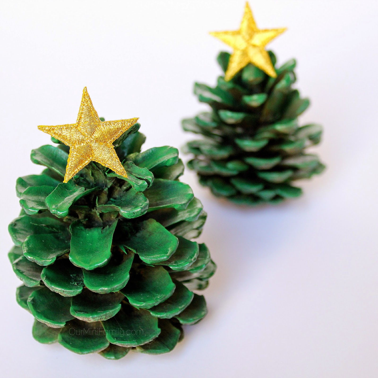 Pine Cone Christmas Ornaments Crafts