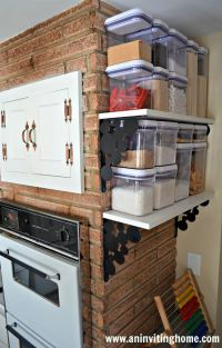 40+ Organization And Storage Hacks For Small Kitchens ...