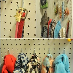 Kitchen Pegboard White Cabinets With Glass Doors 15 Top Bedroom Closet Organization Hacks And Ideas