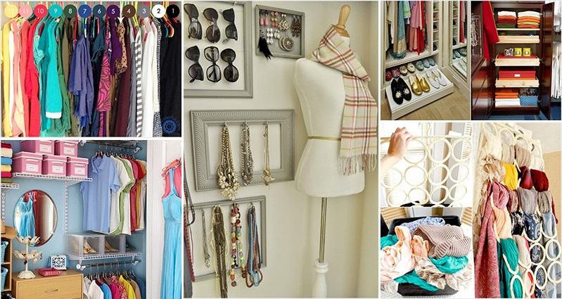 kitchen shelves ideas stainless steel double sink undermount 15 top bedroom closet organization hacks and