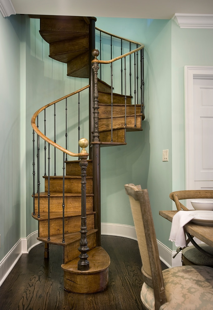 40 Breathtaking Spiral Staircases To Dream About Having In Your Home | 9 Ft Spiral Staircase | Lowes | Toronto V3 | Lowes Com | Wood Treads | Basement Stairs