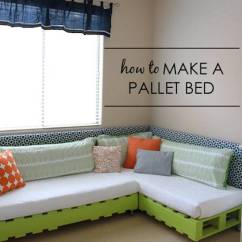 Slide Out Sofa Beds Flexsteel Leather Sofas 40+ Creative Pallet Furniture Diy Ideas And Projects