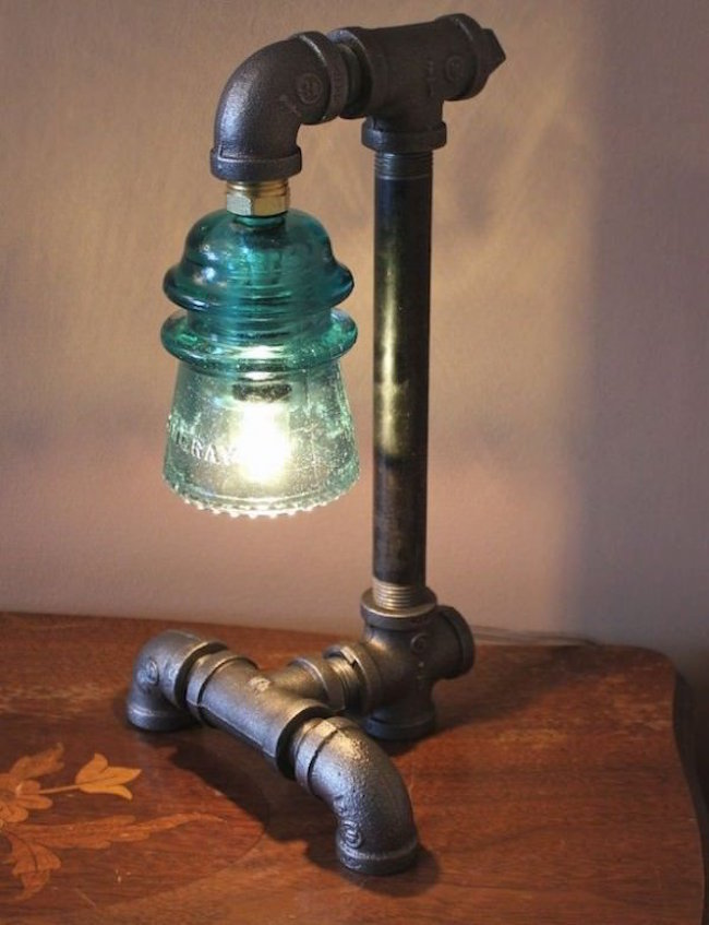Iron Pipe Light Fixture 20 Interesting Industrial Pipe Lamp Design Ideas