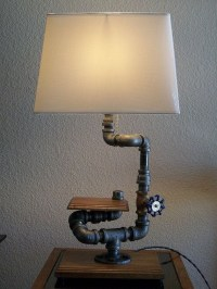 20 Interesting Industrial Pipe Lamp Design Ideas