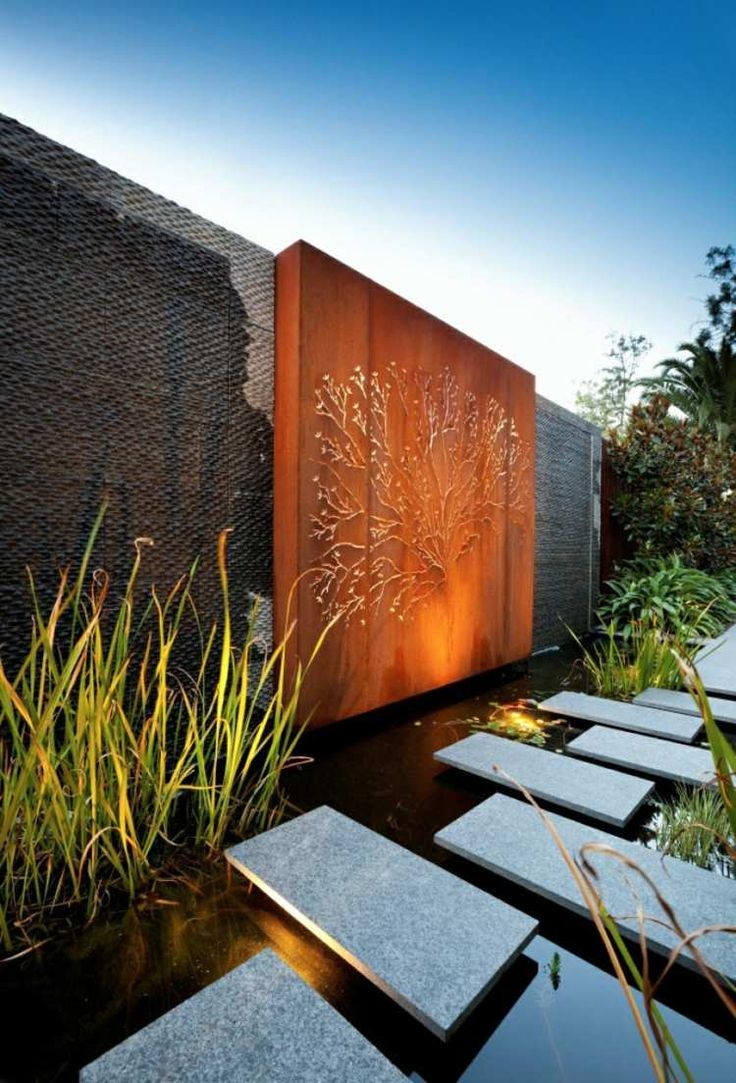 amazing diy ideas for outdoor rusted metal projects