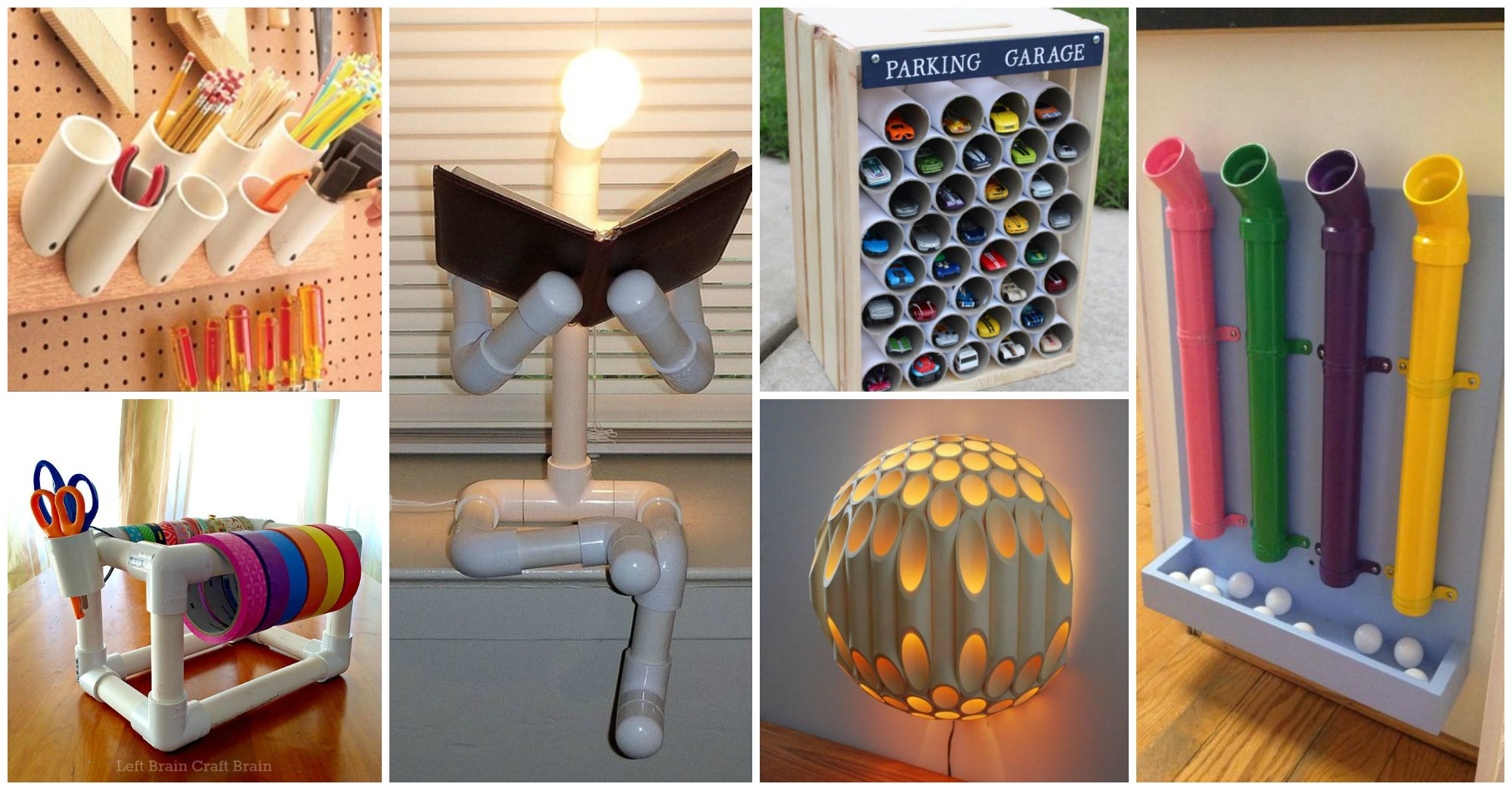 45 Creative Uses Of PVC Pipes In Your Home And Garden