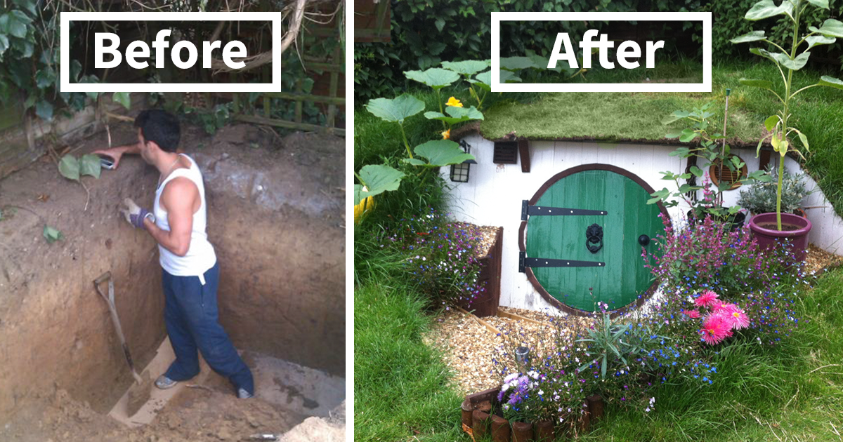 How To Build A Hobbit House In Your Backyard