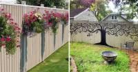 Backyard Fence Decor | Outdoor Goods