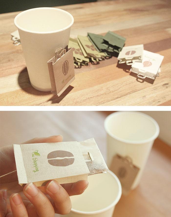 60 Creative Teabag Designs For Tea Lovers