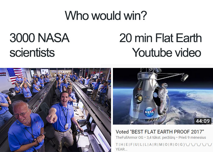 The Internet Cant Stop Trolling FlatEarthers With 25 Hilarious Memes