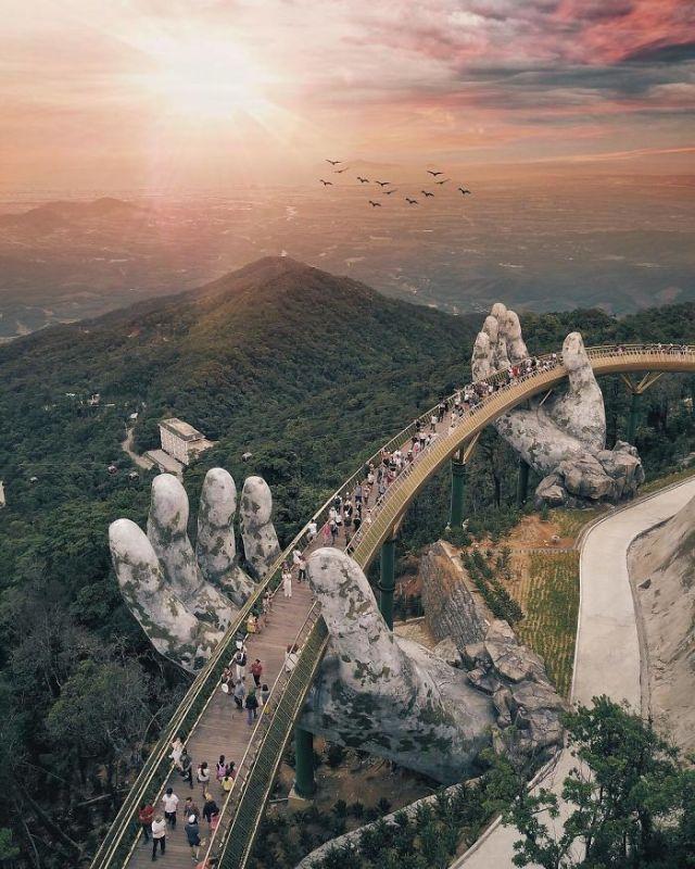 As Mãos Gigantes que estão a impressionar o mundo