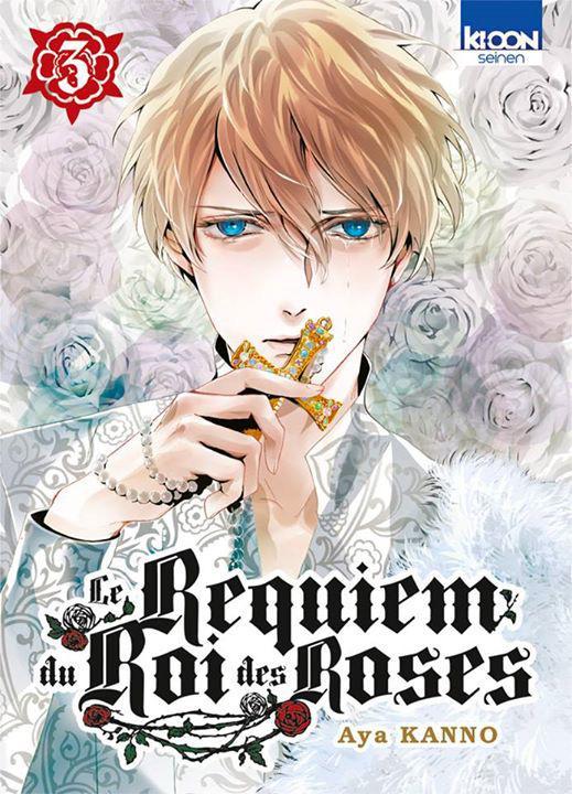 Le Requiem Du Roi Des Roses : requiem, roses, TPB-Manga, Requiem, Roses, Archonia.com