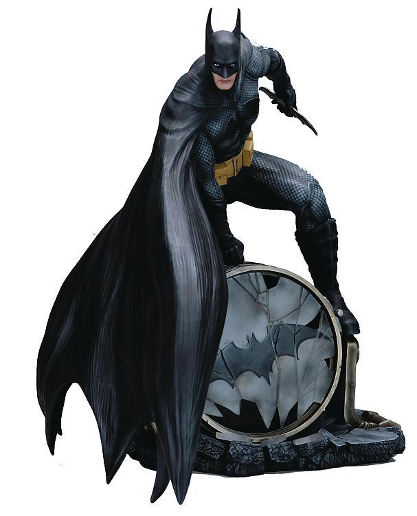 dc comics fantasy figure gallery pvc statue batman 30 cm