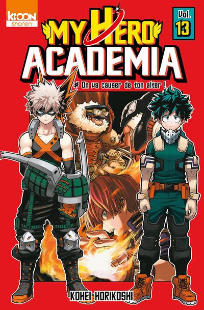 VIZ | Read a Free Preview of My Hero Academia, Vol. 23