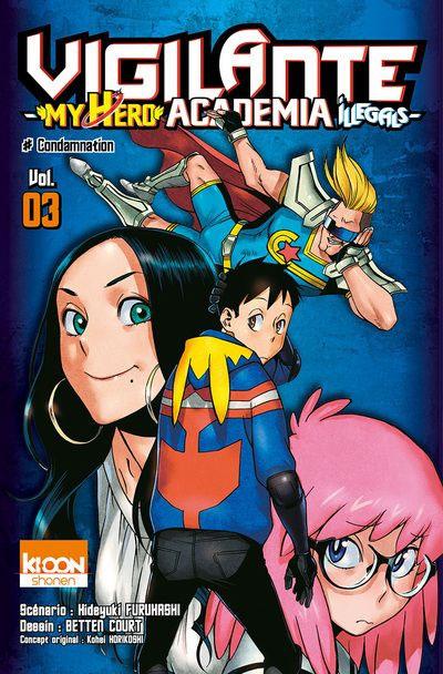 My Hero Academia Tome 1 : academia, TPB-Manga, Vigilante, Academia, Illegals, Archonia.com