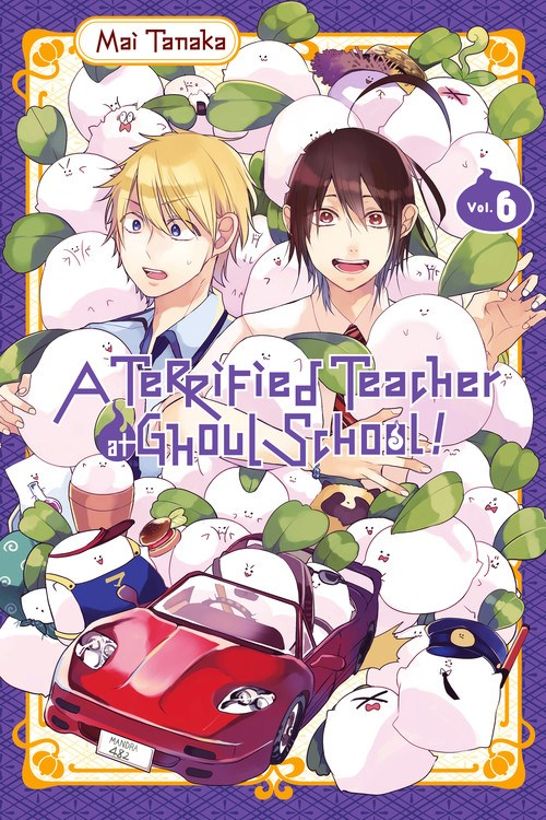 Terrified Teacher at Ghoul School Manga Vol. 6 @Archonia_US