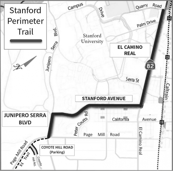Stanford building new multi-modal trails by Page and BMS
