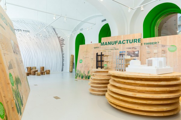"""timber City"" Exhibition Opens National Building"