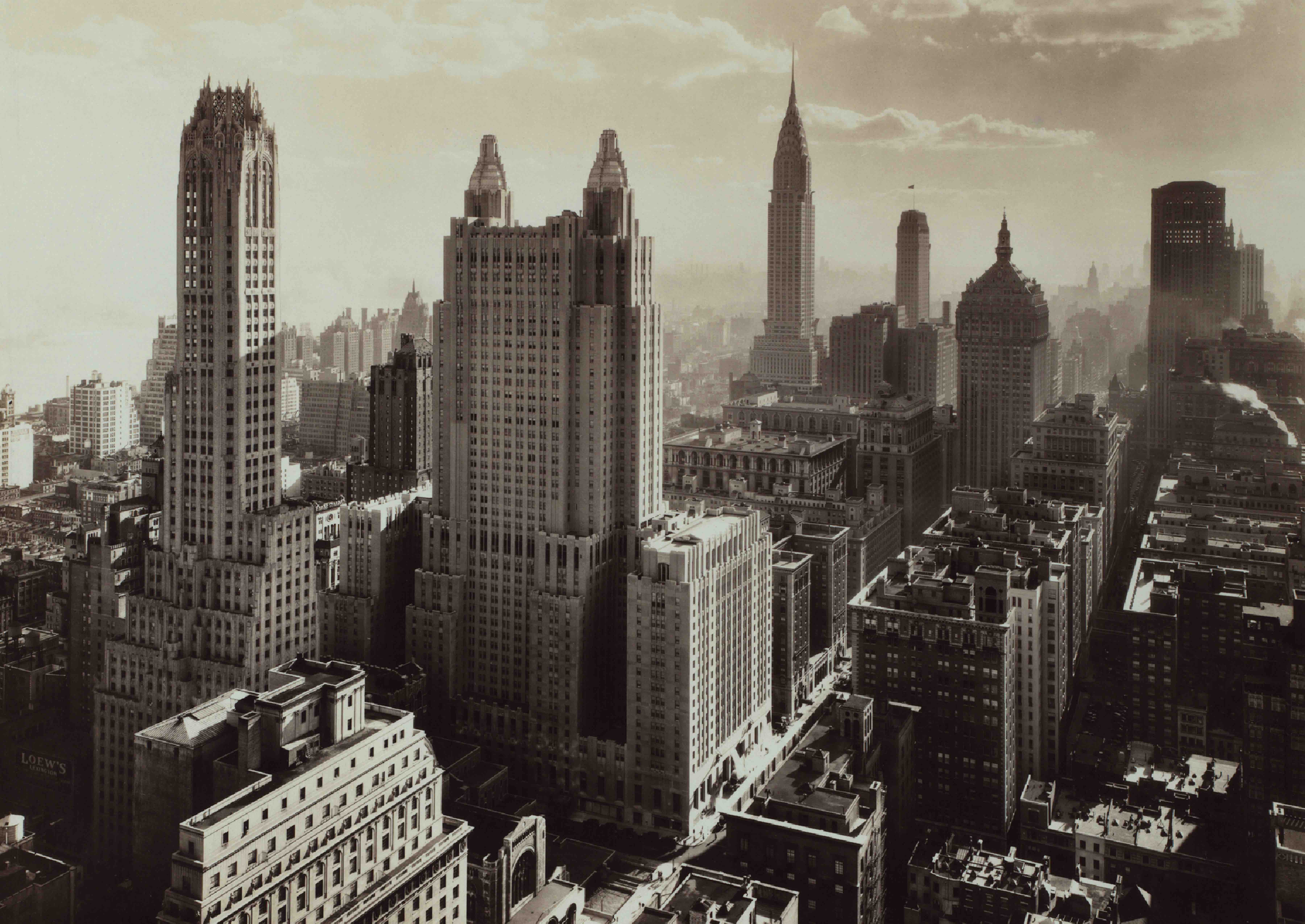History Of The New York City Skyline Comes Alive In New