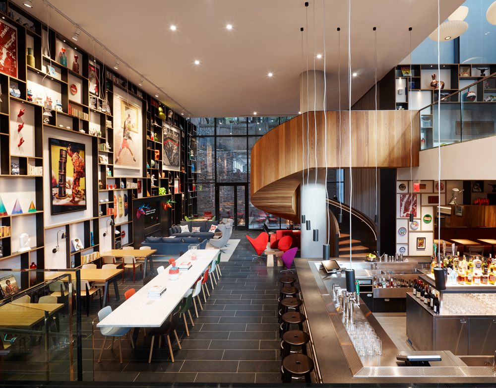 CitizenM used modular construction for its newest NYC