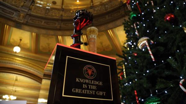 Satanic Temple Erects Holiday Display In