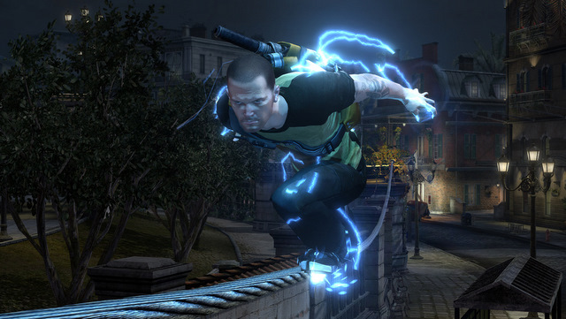 Animated Lightning Wallpaper Destroying A City With Electric Tornadoes Infamous 2