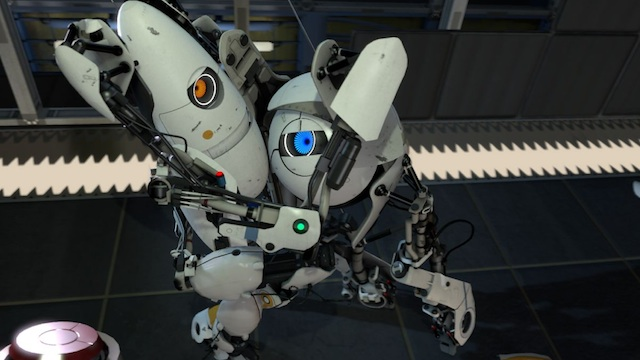 <em>Portal 2</em> will force you and your partner to think a little harder.