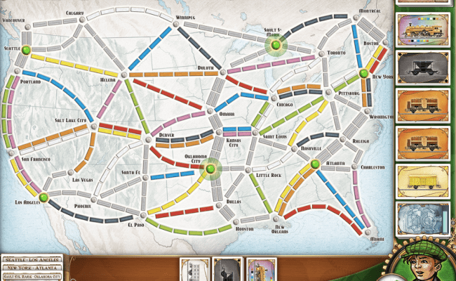 Review Ticket To Ride On Ipad A High Quality Port Of