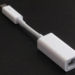 Rj45 To Thunderbolt Nest 3rd Generation Video Hands On Apple S Gigabit Ethernet Adapter Ars Technica