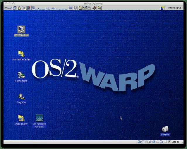 Hasil gambar untuk IBM OS 2 interface