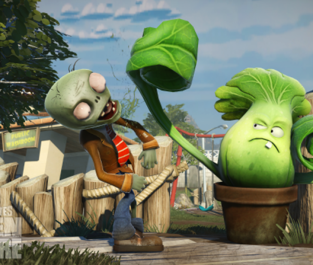 Plants Vs Zombies Garden Warfare Throws Players Into The Weeds