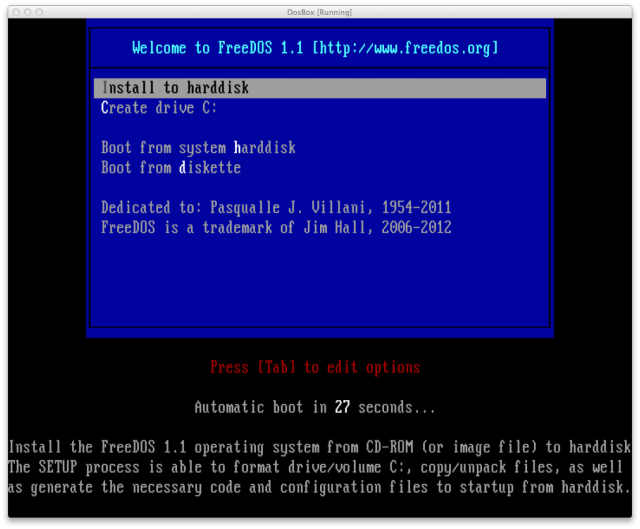 Old school: I work in DOS for an entire day