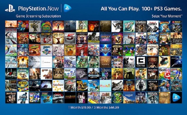 Ps Now Subscriptions To Offer All You Can Play Access