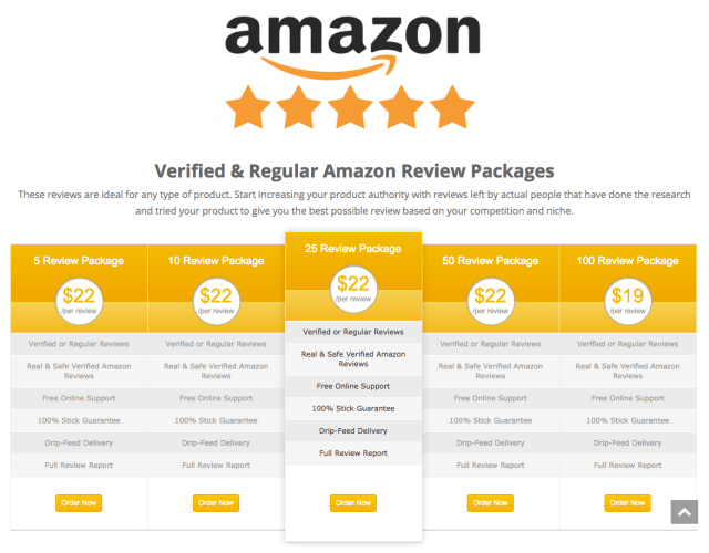 Amazon Drops The Hammer On Website That Sells 5star