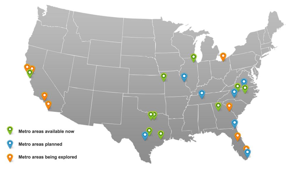 medium resolution of fiber to 100 cities but none in michigan