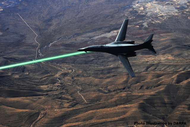 Laser - Air Force Fighter