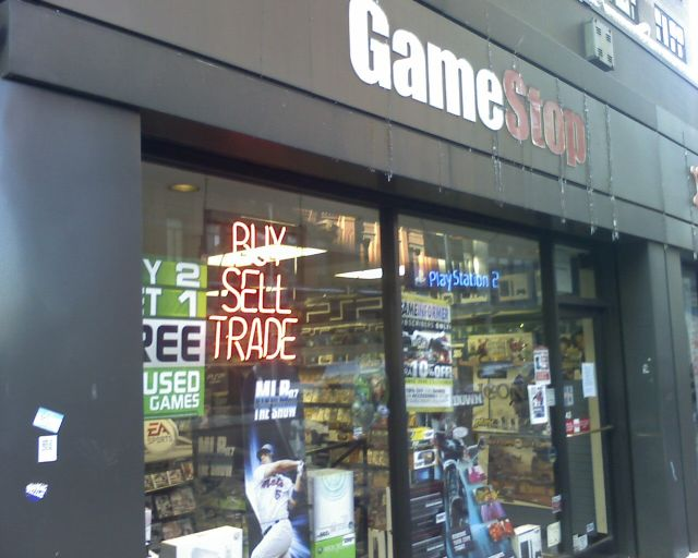 gamestop swaps console game