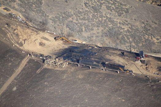 Aliso Canyon methane leak 6.