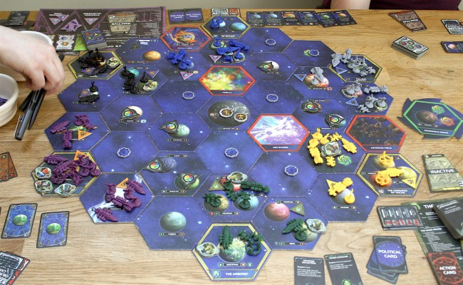 Twilight Imperium Review A Board Game With Meal Breaks